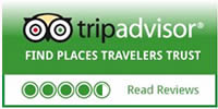 Read our reviews at Trip Advisor